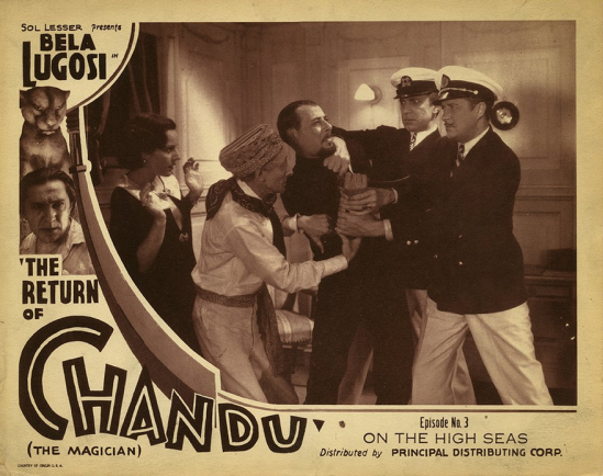 The Return of Chandu The Magician Episode 3 Lobby Card
