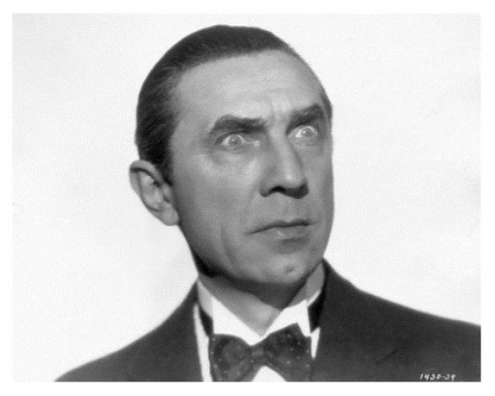 Close up Portrait of Bela Lugosi