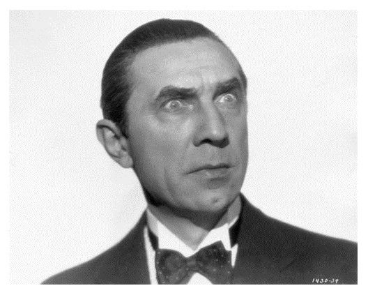 Close up Portrait of Bela Lugosi