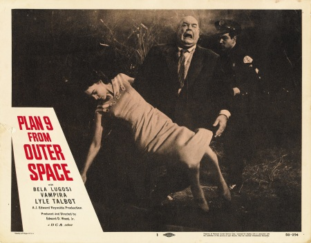 Plan 9 From Outer Space Lobby Card 1