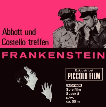 Abbott & Costello Meet Frankenstein German