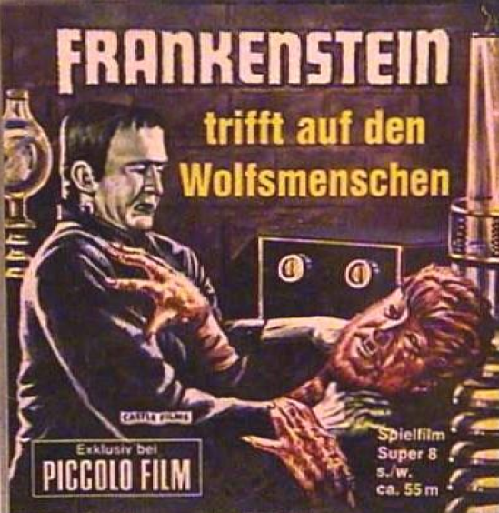 Frankenstein Meets The Wolf Man German