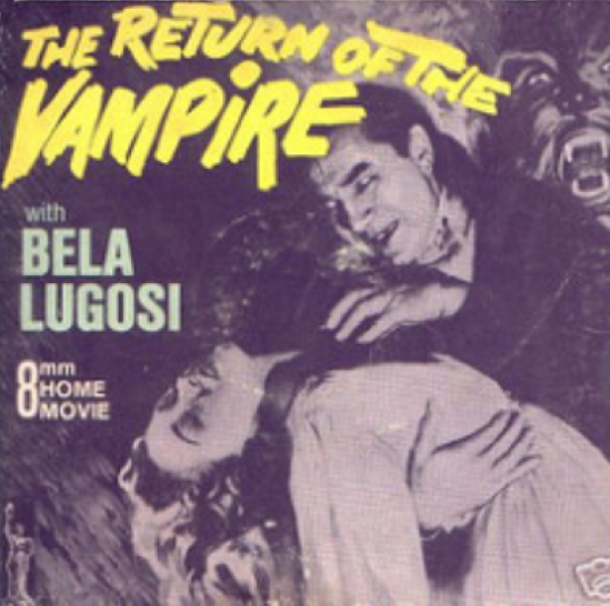 The Return of the Vampire 8mm