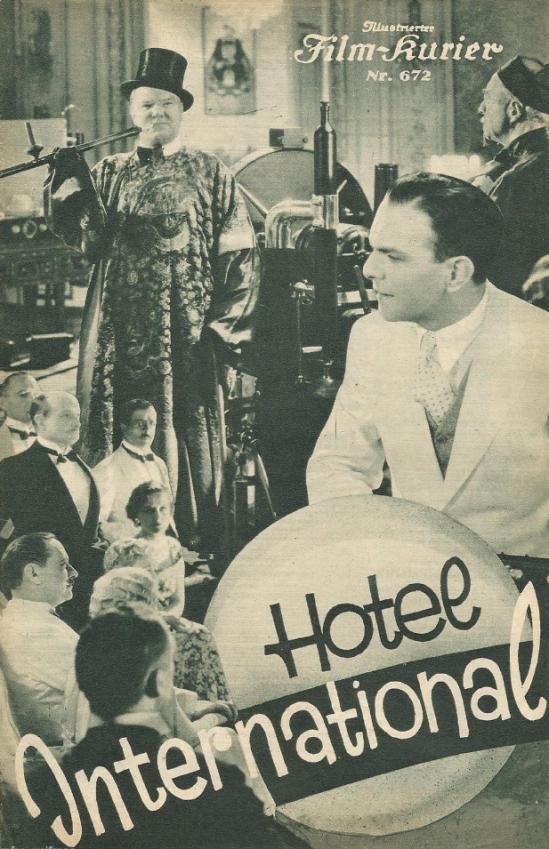 International Hotel, German Cinema Programme