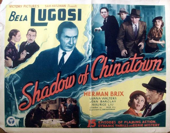 Shadow of Chinatown Half Sheet