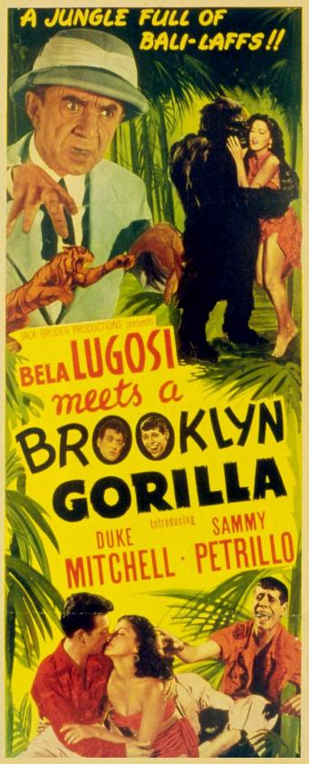 Bela Lugosi Meets A Brooklyn Gorila Insert
