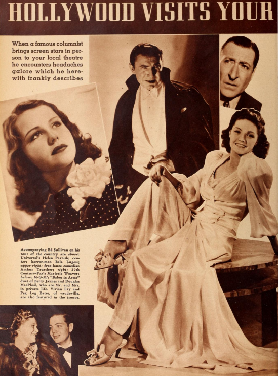 Stardust Cavalcade, Silver Screen, June, 1940
