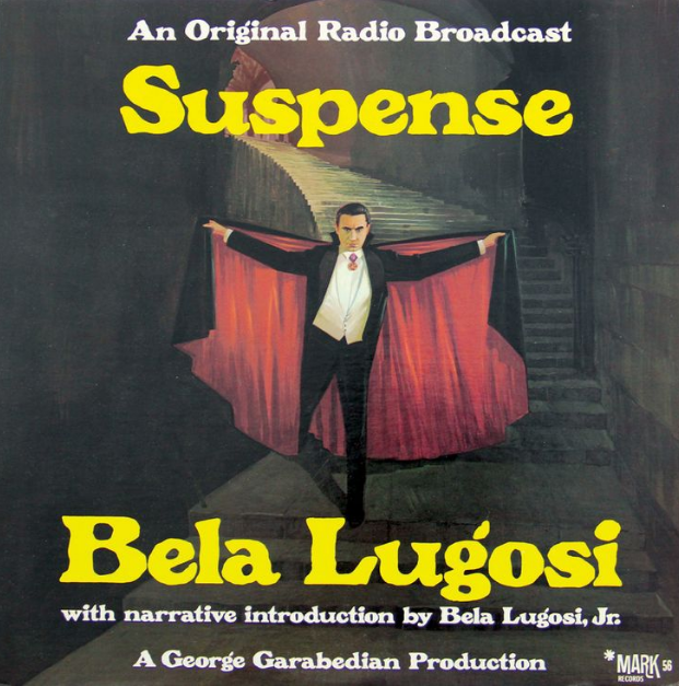 Suspense Album Sleeve