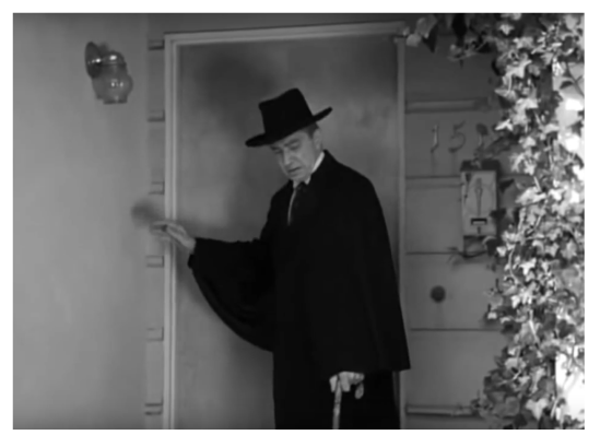 Bela Lugosi in Plan 9 From Outer Space 1
