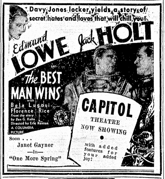 Best Man Wins, Richmond Times Dispatch, February 1, 1935 2