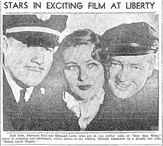 Best Man Wins, Seattle Daily Times, March 22, 1935