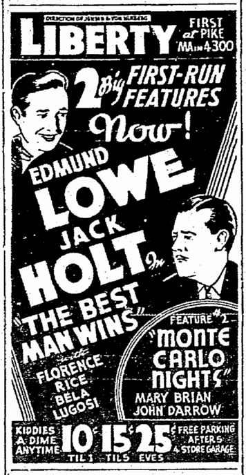Best Man Wins, Seattle Daily Times, March 23, 1935