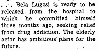 Drugs, Greensboro Record, August 8, 1955