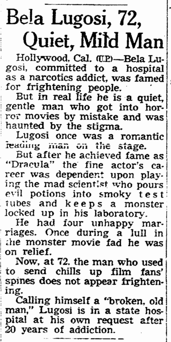 Drugs, Omaha World Herald, May 22, 1955