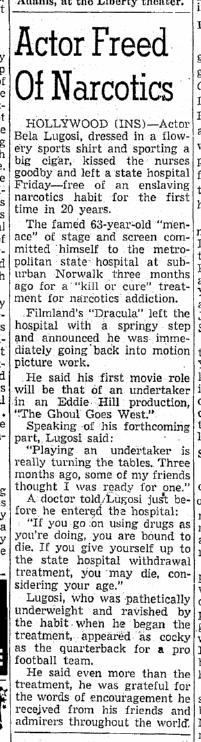 Drugs, Origonian, August 6, 1955