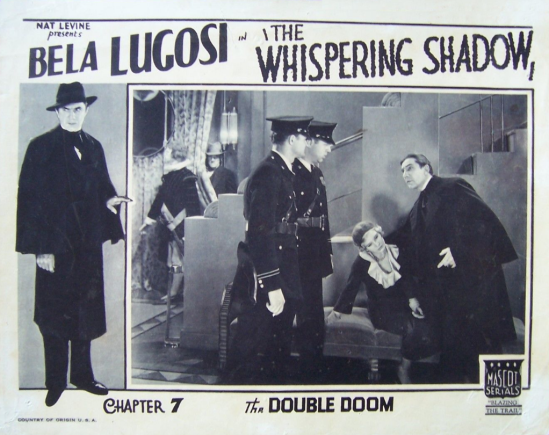 The Whispering Shadow Lobby Card Chapter 7