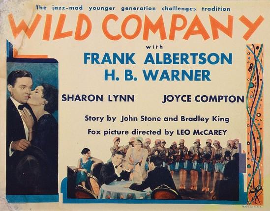 Wild Company Lobby Card