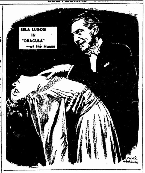 Dracula, Cleveland Plain Dealer, June 8, 1943 (2)