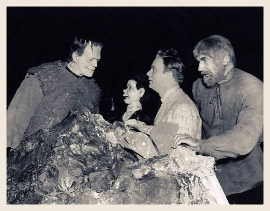 Son of Frankenstein), Boris Karloff, 'Charlie McCarthy', Edgar Bergen, Bela Lugosi