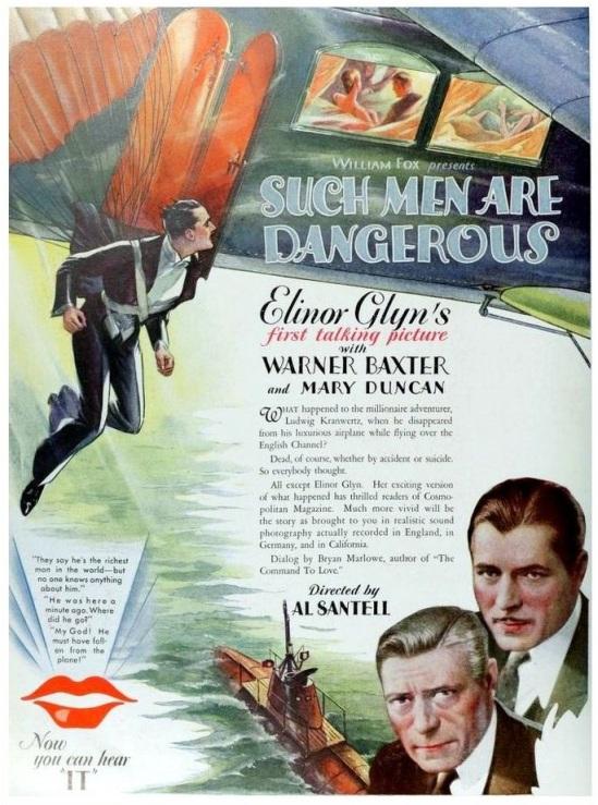 Such Men Are Dangerous Poster