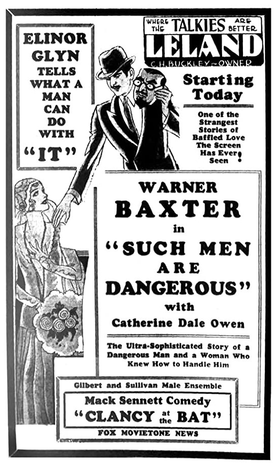 Such Men Are Dangerous Unknown Newspaper